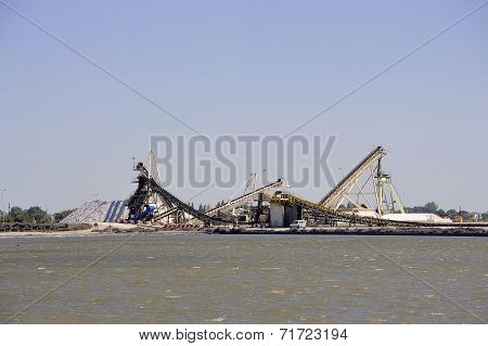 Site Operating Sea Salt Saline Aigues-mortes