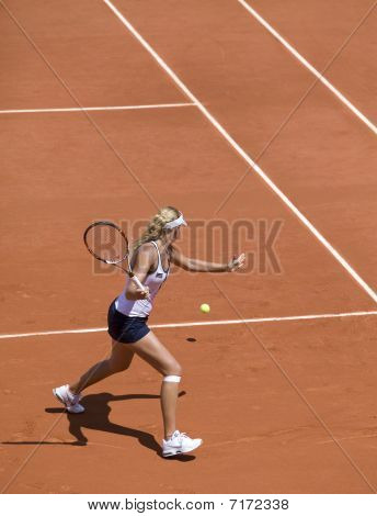 Ending Of Game Of Girl Juniors On Roland Garros