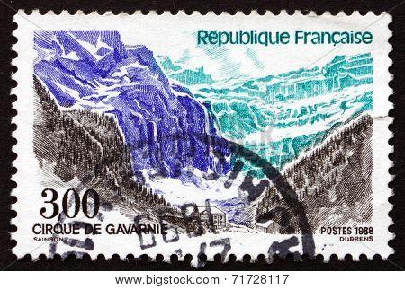 Postage Stamp France 1988 Cirque De Gavarnie