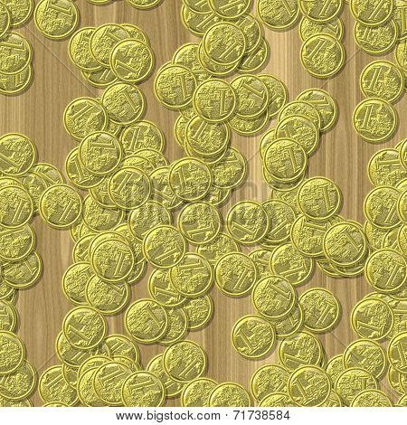 Coin Seamless Generated Hires Texture Background