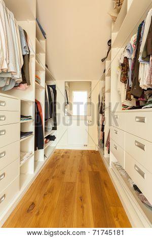 Bright Spacious Closet