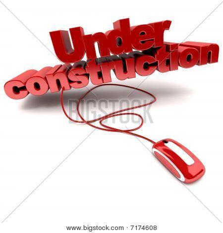 Web em construção