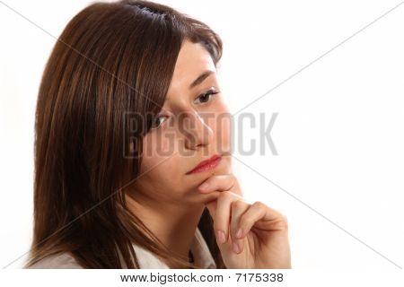 Young, Sad Woman