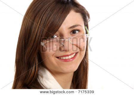 Young Woman With Glasses