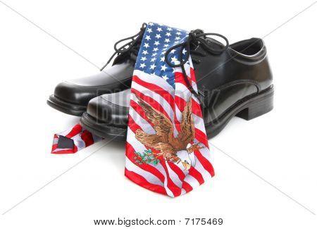 Hombre de negocios Estados Unidos tema