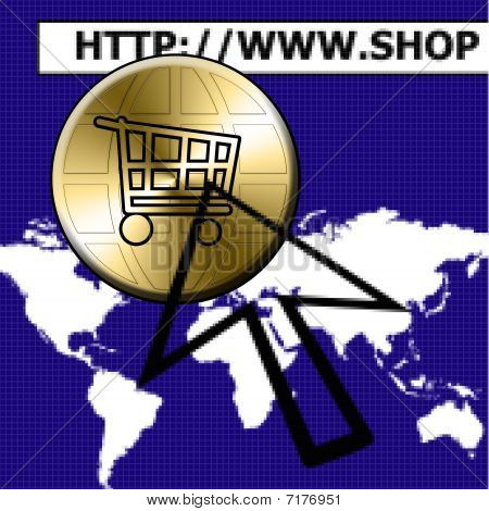 E-shop Button