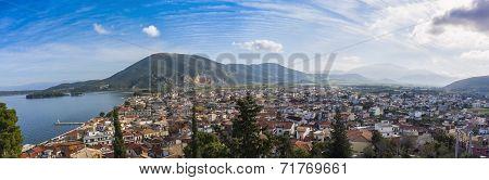 Vonitsa panorama, Greece