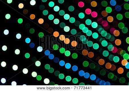Dj Blurry Led Lights Panel