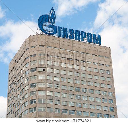 Gazprom Company Building