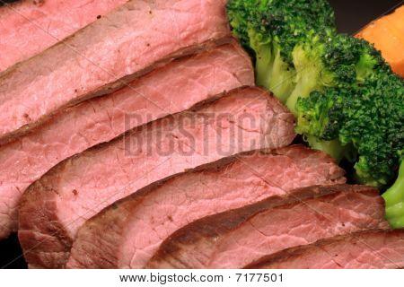 zartes gegrilltes Rindfleisch