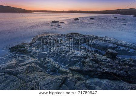 early sunlight, St. Anthony, Newfoundland