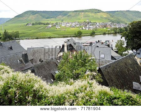 Villages On Moselle River, Germany