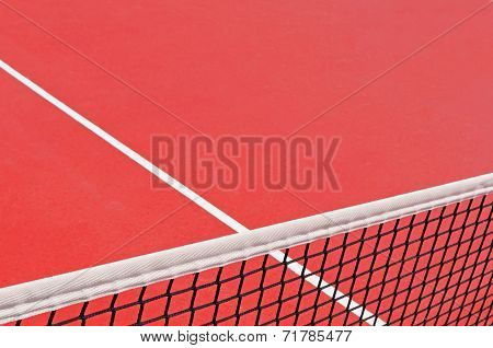 Tennis Court Detail