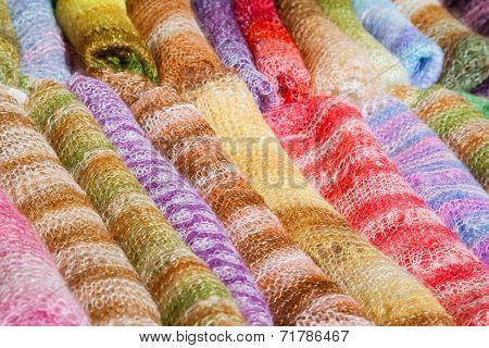 Woolen Gentle Folded Shawls (scarfs)