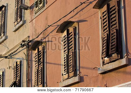 Closed Window Shutters