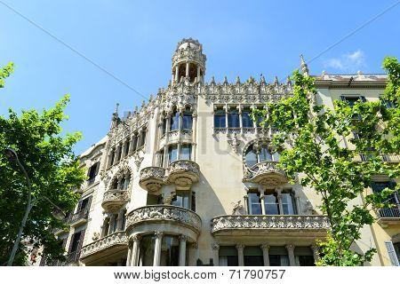 Casa Lleo Morera, Barcelona, Spain