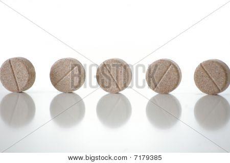 Several tablets