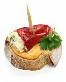 stock photo of pimiento  - spanish pinchos - JPG