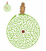 picture of groundhog day  - Vector Maze - JPG