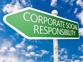 stock photo of responsible  - Corporate Social Responsibility  - JPG