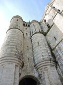 picture of michel  - towers of abbey mont saint - JPG