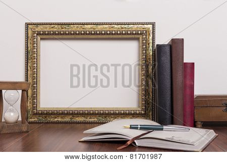 Gold And Color Frame