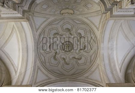 Grand Staircase ceiling detail