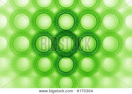 Bright Bold Bubble Circle Design