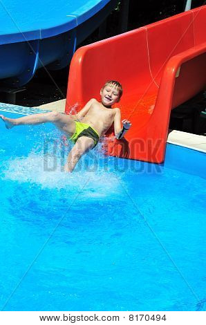 From Slide To Water