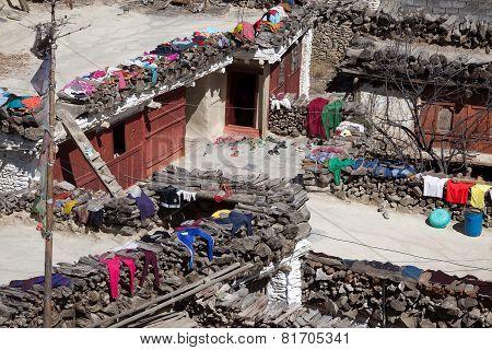 Rooftop View, Marpa Village