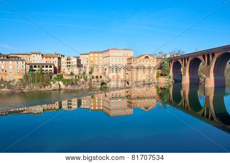 Reflections on the Tarn in Albi