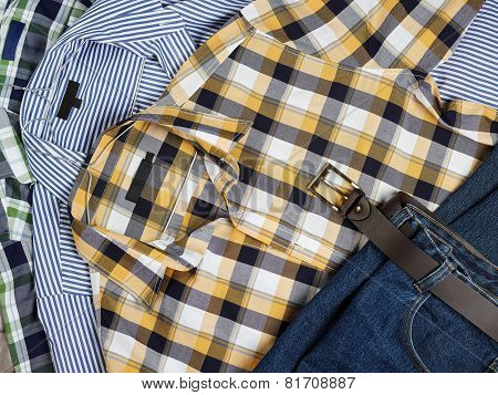 Men's Shirts And Jeans