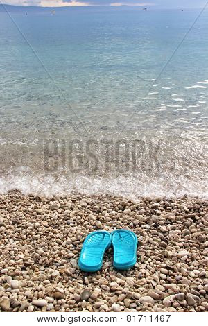 Clear Sea Water Of Adriatic Sea