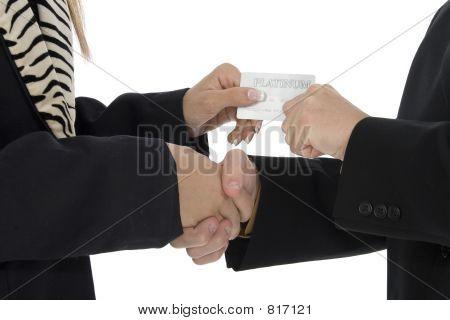 Plantinum Handshake