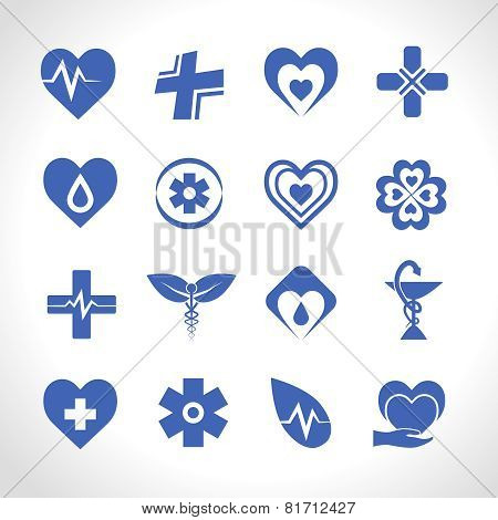 Medical Logo Blue