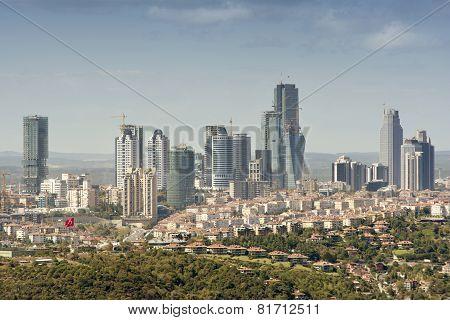 Zincirlikuyu (Financial District), Istanbul, Turkey