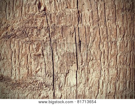 Old Weathered Rough Wood Background Or Texture.