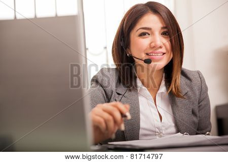 Cute Tech Support Rep