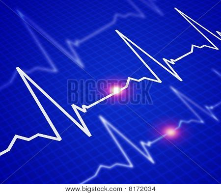 Image Of The Heart Rate