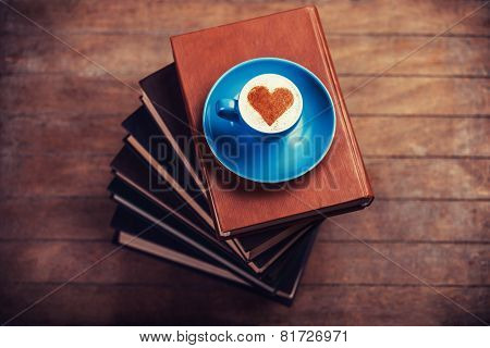 Cup Of ?offee With Shape Heart