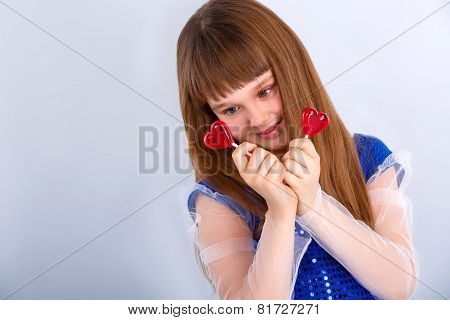 Valentines Day Girl