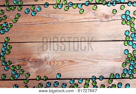 Copyspace Background With Wooden Pattern