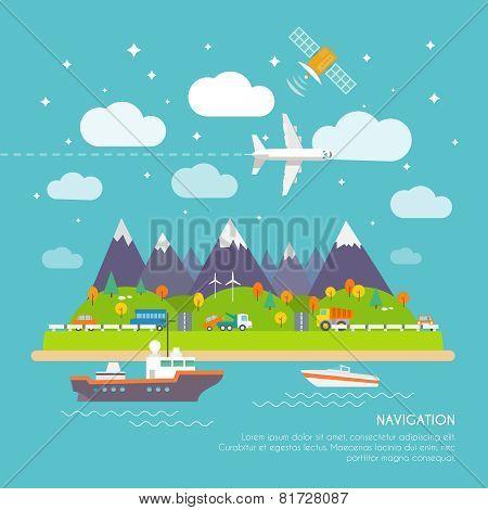 Navigation poster