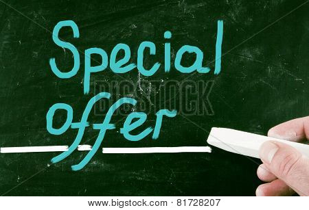 Special Offer Concept