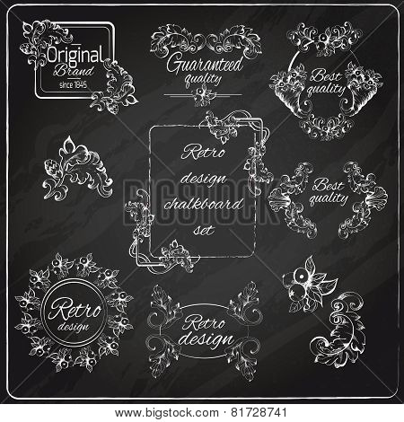Retro Design Chalkboard