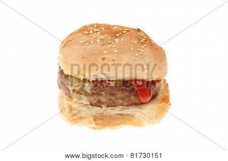 Burger With Ketchup
