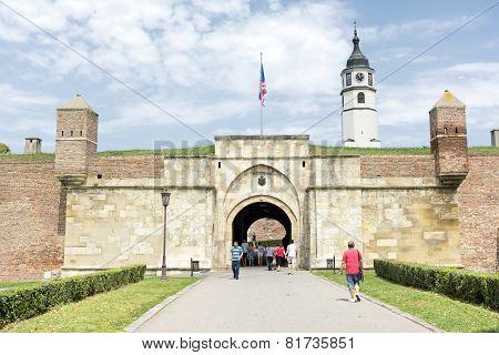 Inner Stambol Gate, Belgrad Fortress, Serbia