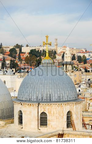 Church Of The Holy Sepulchre - Jerusalem Old City