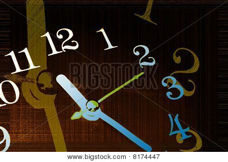 Time Background