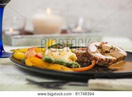 Pork Fillet Dinner